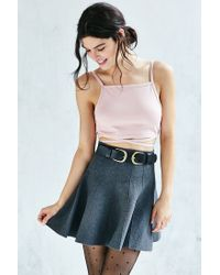 Silence + Noise - Pink Apron Top - Lyst
