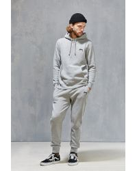 Stussy | Gray Fleece Sweatsuit Box Set for Men | Lyst
