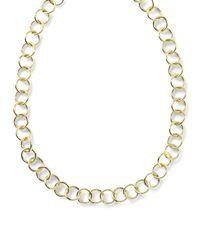 Ippolita | Metallic 18k Glamazon Round Link Necklace | Lyst