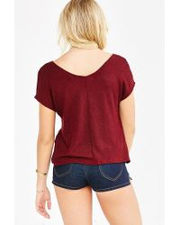 Project Social T - Purple Sweet Jane Top - Lyst