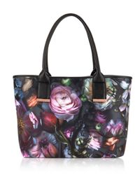 Ted Baker - Multicolor Sophiea Shadow Floral Tote - Lyst