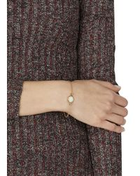 Marc By Marc Jacobs - Metallic Cream Enamel Disc Bracelet - Lyst