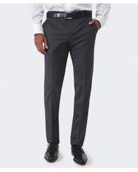 Corneliani | Gray Wool Trousers for Men | Lyst