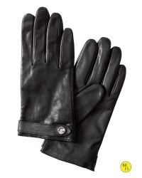 Banana Republic | Black Seamed Leather Glove | Lyst