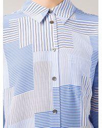 Equipment - White 'Reese' Shirt - Lyst