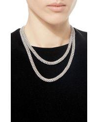 Sidney Garber | Metallic Lunetta Necklace | Lyst