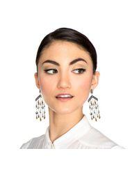 Lulu Frost | Black Citadel Chandelier Earring | Lyst