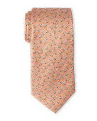 Pierre Cardin | Orange Bumble Bee Silk Tie for Men | Lyst