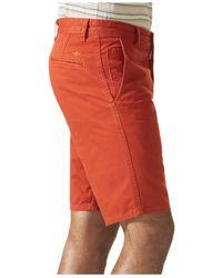 Dockers   Orange Alpha Flat Front Khaki Shorts for Men   Lyst