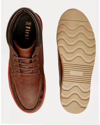 Firetrap - Brown New England Moccasin Boots for Men - Lyst
