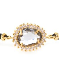 Tai - Black Starburst Beaded Bracelet - Lyst