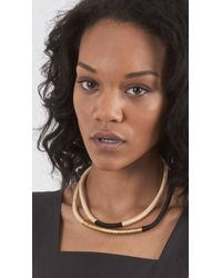 Giada Forte - Metallic Woven Choker Necklace Set - Lyst