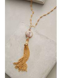 Gas Bijoux | Metallic Deco Tassel Necklace | Lyst