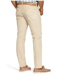 Polo Ralph Lauren | Natural Big And Tall Straight-fit 5-pocket Poplin Pants for Men | Lyst