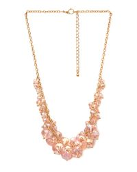 Forever 21 - Pink Rock Candy Necklace - Lyst