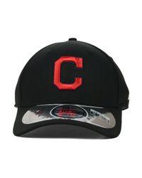 KTZ - Cleveland Indians Diamond Era Black 39thirty Cap for Men - Lyst