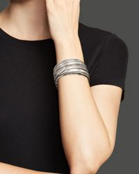 Roberto Coin | Metallic Sterling Silver Large Bangle | Lyst