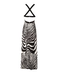 Jane Norman | Black Keyhole Back Maxi Dress | Lyst
