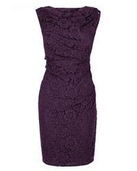Coast | Purple Lianna Lace Dress | Lyst