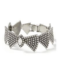 Banana Republic | Metallic Sparkle Bow Tie Bracelet | Lyst