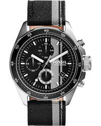 Fossil | Gray 2959 Decker Stainless Steel Watch - For Men for Men | Lyst