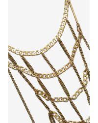 Nasty Gal - Metallic Jenny Bird Hopper Weave Necklace - Lyst