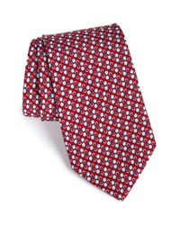 Vineyard Vines | Red 'ball And Chain' Silk Tie for Men | Lyst