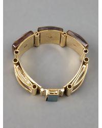 Marni | Metallic Chunky Bracelet | Lyst