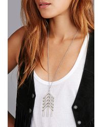 Forever 21 - Metallic The 2bandits Straight Shooter Pendant Necklace - Lyst