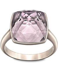 Swarovski | Pink Tempo Large Ring | Lyst