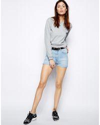 Cheap Monday - Gray Cut Out Waist Sweatshirt - Lyst