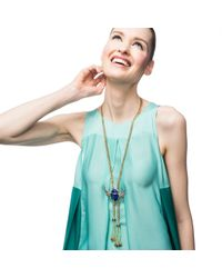 Lulu Frost | Multicolor Eternal Life Tassel Necklace | Lyst