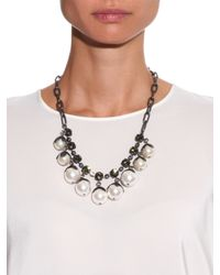 Weekend by Maxmara - Natural Okra Necklace - Lyst