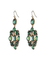 Alexis Bittar - Green Turquoise Mosaic Earrings - Lyst