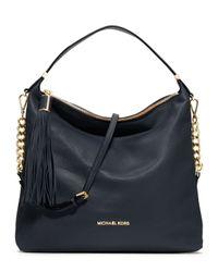MICHAEL Michael Kors - Blue Large Bedford Tassel Shoulder Bag - Lyst