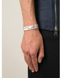 Aech Cheli - White Python Skin Bracelet - Lyst