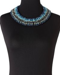 Nakamol | Blue Crystal Necklace | Lyst