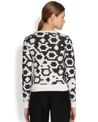J.W.Anderson | Black Intarsia Sequin Sweater | Lyst