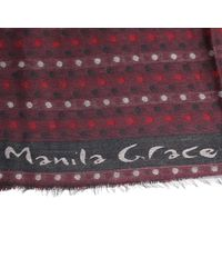Manila Grace | Purple Scarf | Lyst