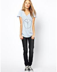 Zoe Karssen - Peace Boyfriend Tshirt - Lyst