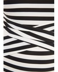 Downeast Basics - Down For A Dip One-piece Swimsuit In Black And White - Lyst
