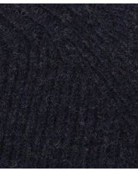 YMC - Blue Navy Wool-cashmere Knitted Jumper for Men - Lyst