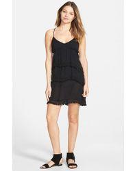 Volcom - Black 'haute Love' Strappy Dress - Lyst