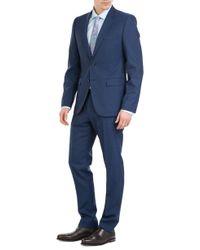 HUGO   Wool Aeron/Hamen Trousers - Blue for Men   Lyst