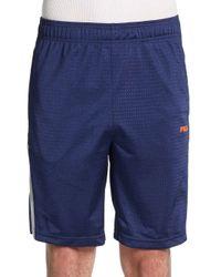46292fda6cd68 Lyst - Fila Mesh Shorts in Blue for Men
