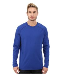 Carhartt | Blue Force Cotton Delmont Sleeve Graphic T-shirt for Men | Lyst