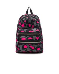 Marc By Marc Jacobs - Pink Domo Arigato Printed Leopard Packrat Backpack - Lyst
