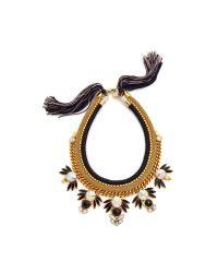 Lizzie Fortunato | Metallic Jet Set Necklace - Gold Multi | Lyst