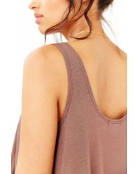 Kimchi Blue - Brown Float In The Sun Tank Top - Lyst