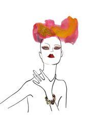 Iosselliani | Red Crystal Bracelet | Lyst